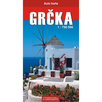 detaljna karta grcke GRCKA   Auto karta detaljna karta grcke