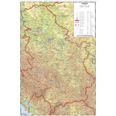 atlas karta srbije ATLASNA SRBIJA   Školski program atlas karta srbije