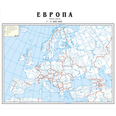 Nema Karta Evrope Superjoden