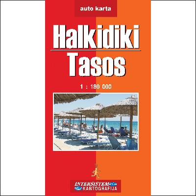 auto karta grcke tasos HALKIDIKI   TASOS   Auto karta auto karta grcke tasos