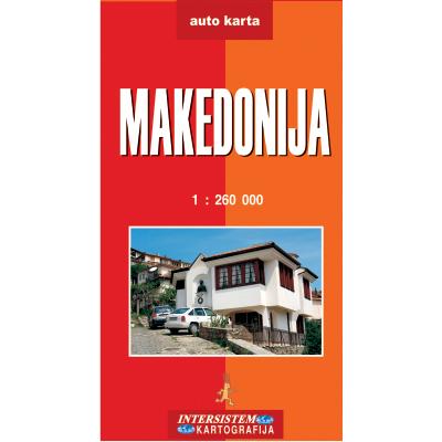 Makedonija Auto Karta
