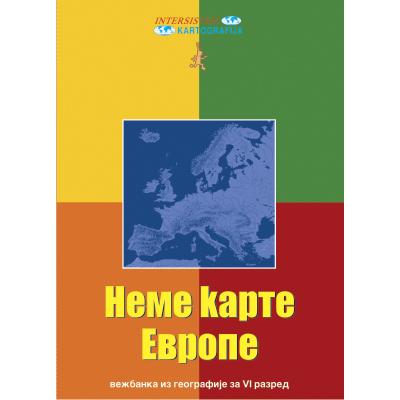 Nema Karta Evropa Vi Razred Skolski Program